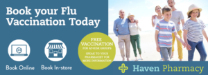 Book your flu vaccine today